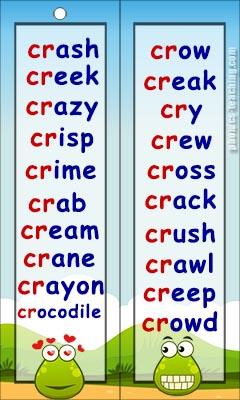 cr words