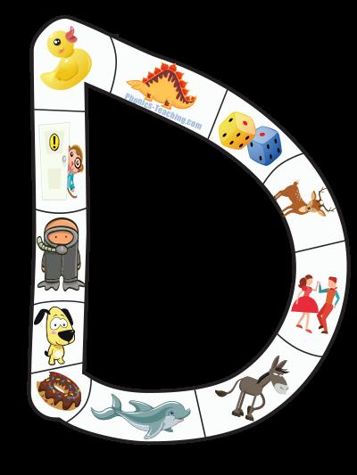 d alphabet puzzle