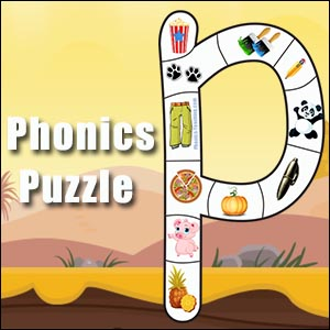 letter p puzzle