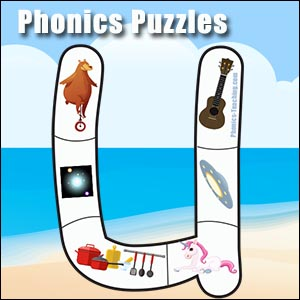 long u alphabet puzzle