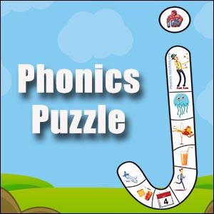 phonics puzzle j