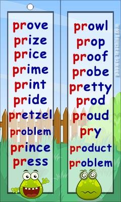 pr words