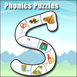 s sound alphabet puzzle