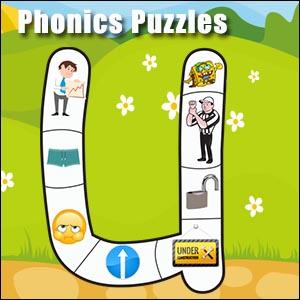 short u jigsaw puzzle