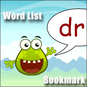 words starting with dr