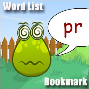 words starting with pr