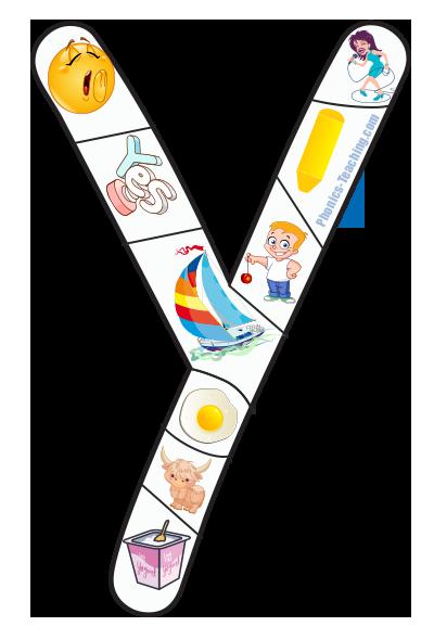 y alphabet puzzle