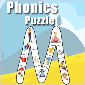 Letter M Alphabet Puzzle