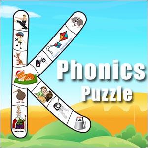 alphabet puzzle k
