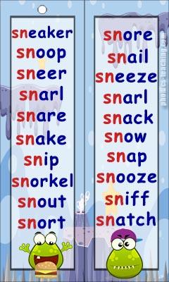 sn word list