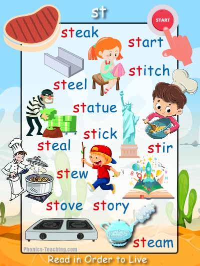 st word list